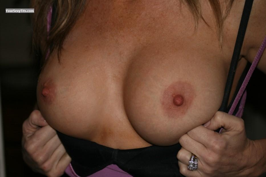 Tit Flash: Medium Tits - Milf Nurse from United States